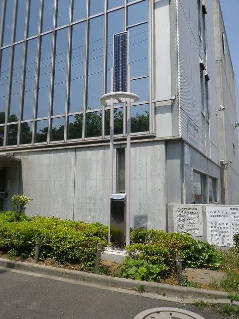 ソーラーLED街路灯 エコアヴェニューduo (東京・江東区)
